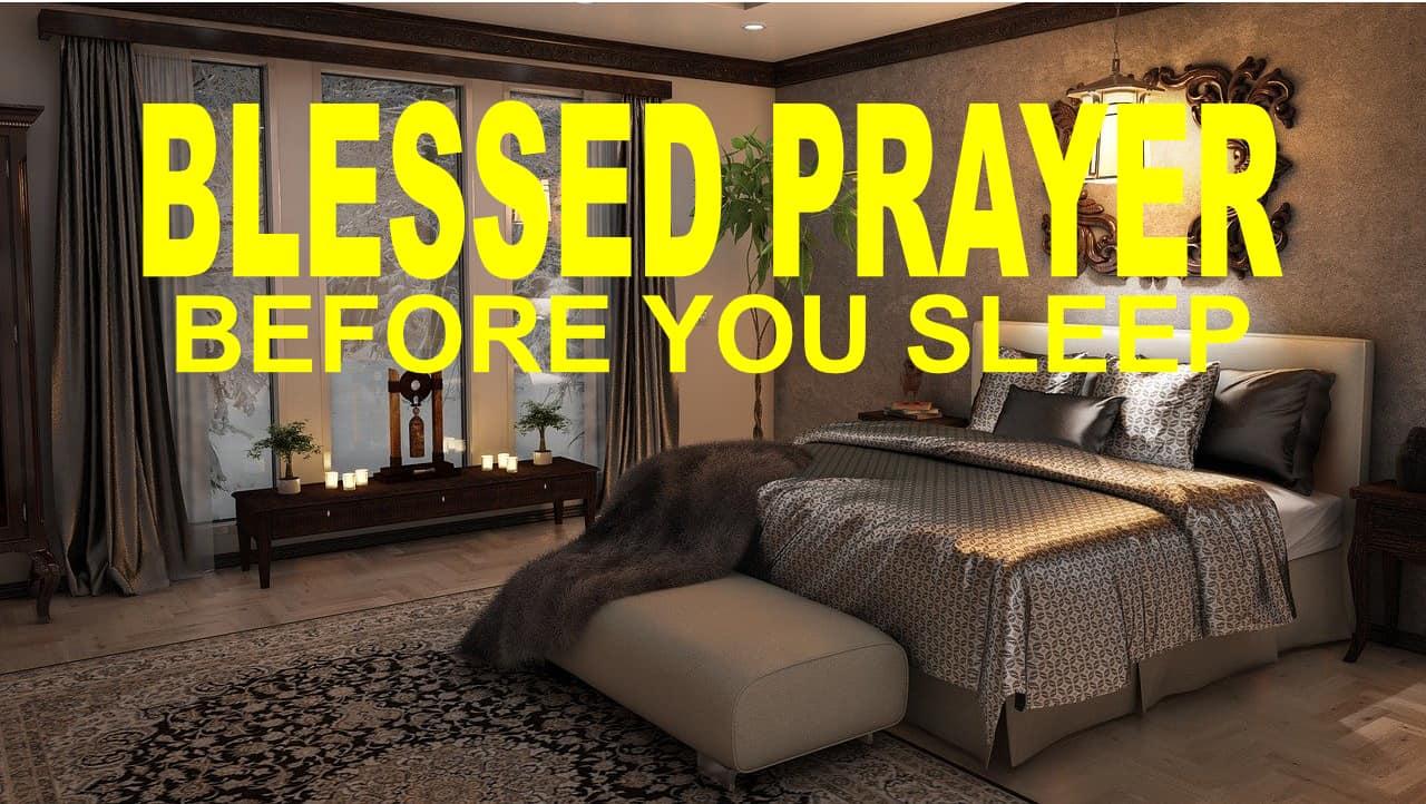 BLESSED PRAYERS FOR SLEEP